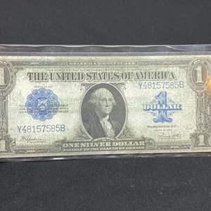 Lot # 100G - Series 1923 Oversized Silver Certificate (Y48157585B)