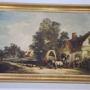 Lot # 28 Half Way House by William Shayer