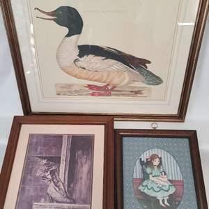 Lot # 34 Assorted Framed Prints