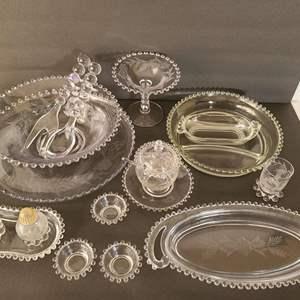 Lot # 35 Vintage Glassware #1