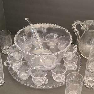 Lot # 36 Vintage Glassware #2