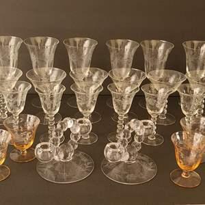 Lot # 37 Vintage Glassware #3