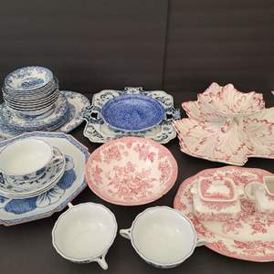 Lot # 46 Assorted China & Serving Platters