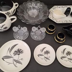 Lot # 49 Beautiful Pottery & Glass
