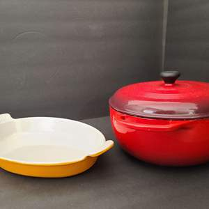 Lot # 60 Le Creuset & Lodge Cookware