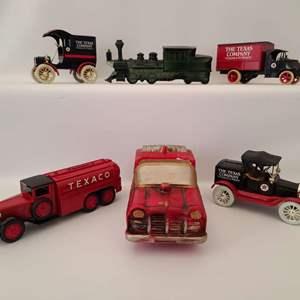 Lot # 70 Texaco Coin Bank Trucks & More