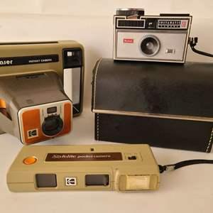 Lot # 72 Vintage Kodak Trio