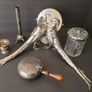Lot # 87 Silver Plated Assortment
