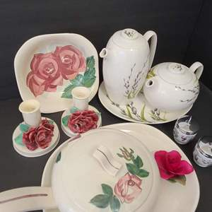 Lot # 92 W.S. George & Red Wing Pottery