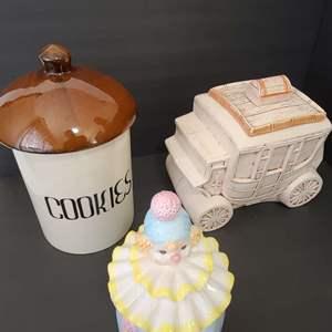 Lot # 93 Vintage Cookie Jars