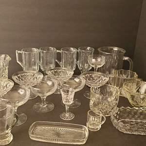 Lot # 103 Assorted Glassware
