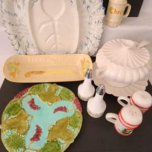 Lot # 108 Ceramic & Glass Tableware
