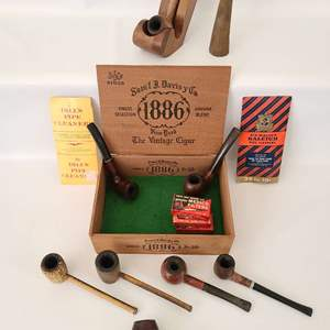 Lot # 109 Vintage Tobacco Pipes