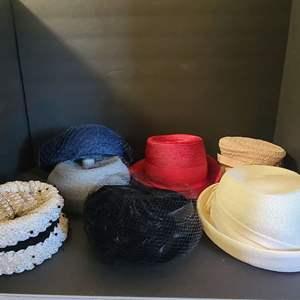 Lot # 123 Vintage Ladies Hats #1