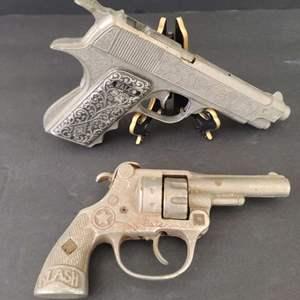 Lot # 134 Vintage Halco Military Toy Pistol & Revolver Cap Gun