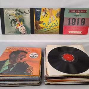 Lot # 136 Vinyl Records