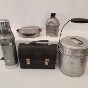 Lot # 139 Vintage Lunchbox & More