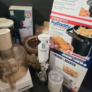 Lot # 155 Asst. Kitchen Appliances