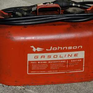Lot # 177 Johnson Fuel Tank