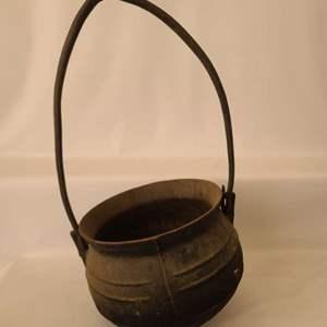 Lot # 194 Cast Iron Pot/Cauldron