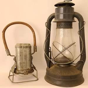 Lot # 199 Dietz & Justrite Lanterns