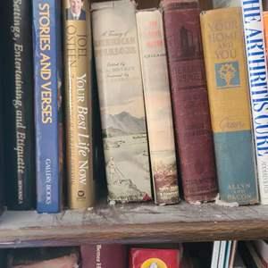 Lot # 209 Asst. Books