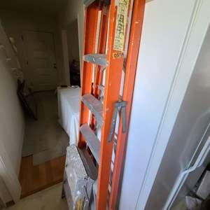 Lot # 213 6ft. Ladder & Step Ladder
