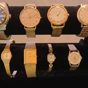 Lot # 222 Assorted Men's & Women's Watches