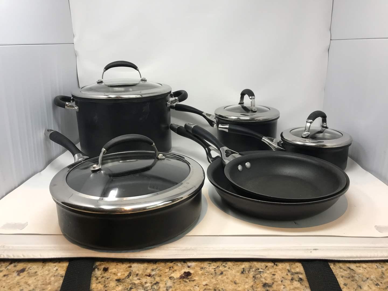 Lot # 52 - Used Circuion Pots & Pans (main image)