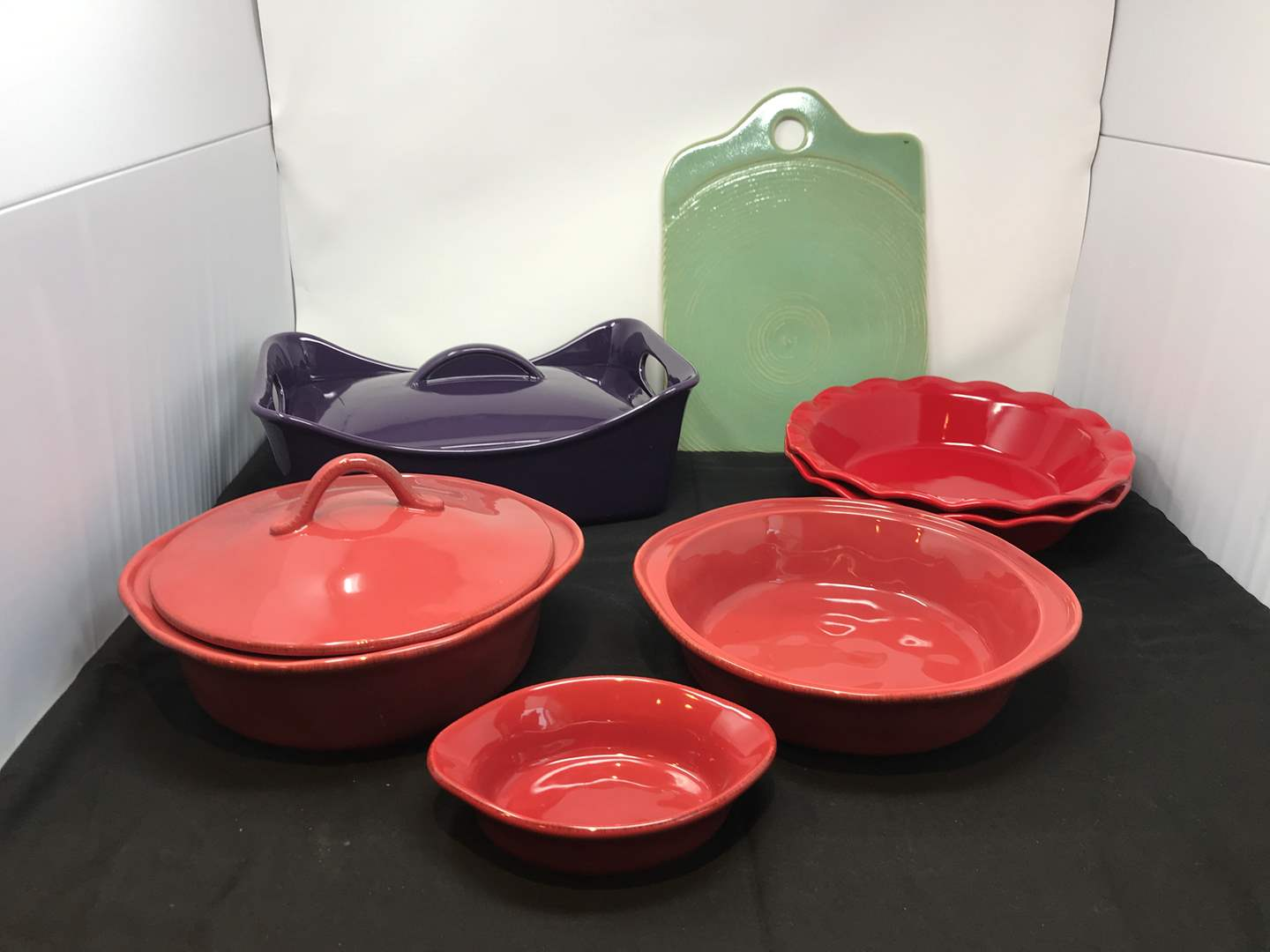 Lot # 55 - Rachael Ray Casserole Dish, Athropologie Serving Plate & More (main image)