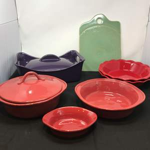 Lot # 55 - Rachael Ray Casserole Dish, Athropologie Serving Plate & More