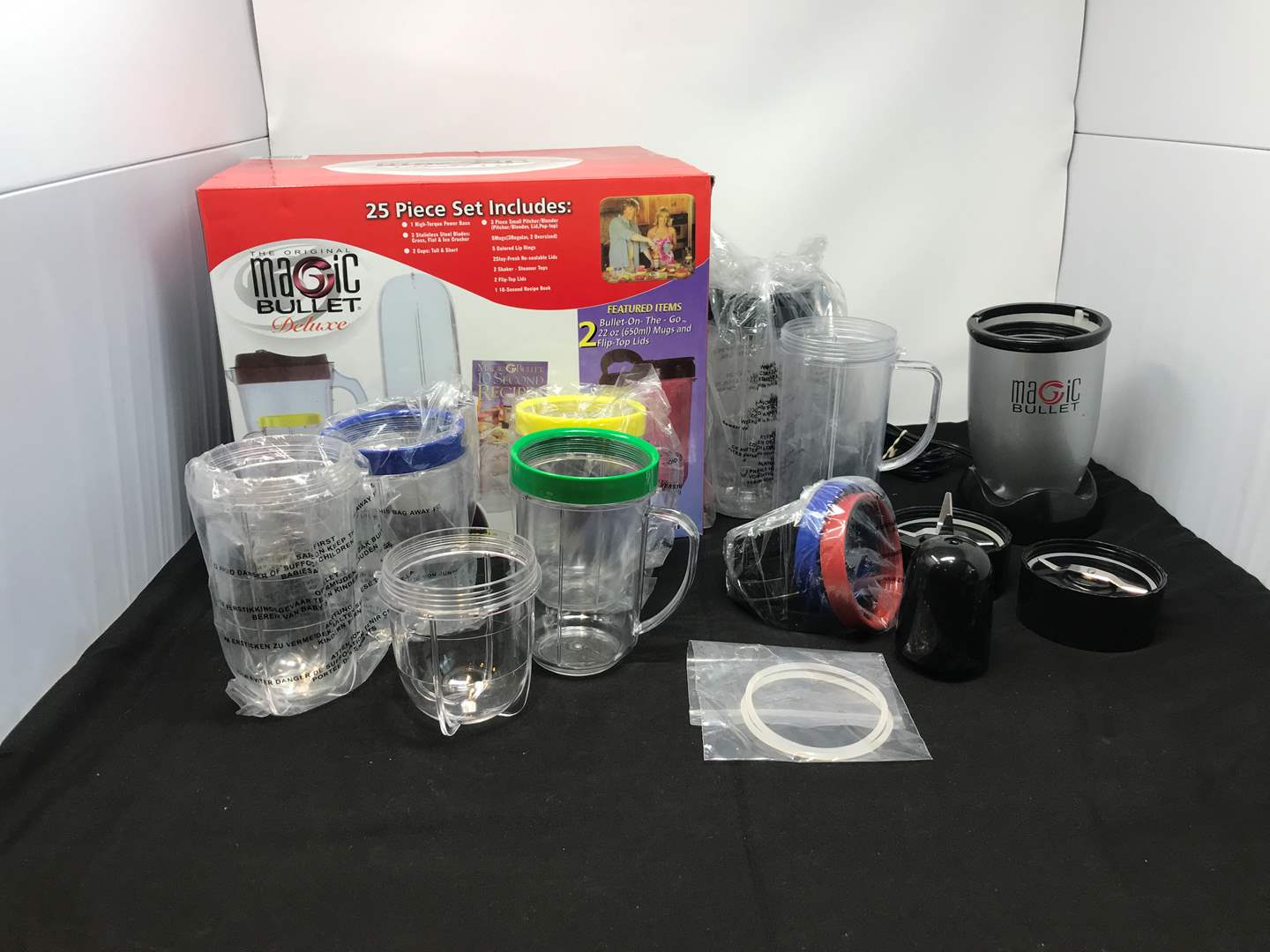 Lot # 56 - Lightly Used Magic Bullet Deluxe  (main image)