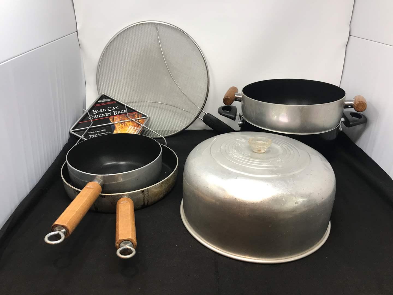 Lot # 59 - Lot of Misc. Pots & Pans (main image)