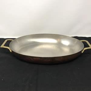 Lot # 63 - Vintage Oval Paul Revere Ware Dish