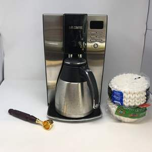 Lot # 73 - Well Used Mr. Coffee Maker & Filters