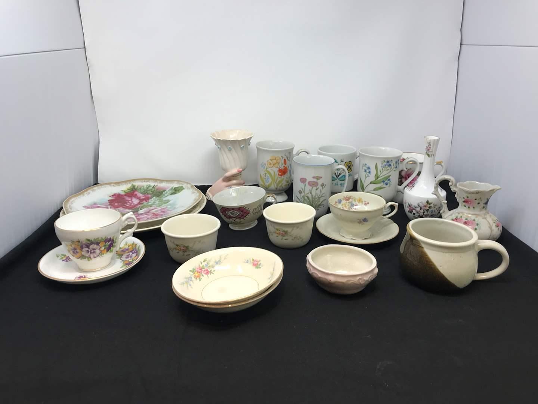Lot # 76 - Teacups & Misc. China (main image)