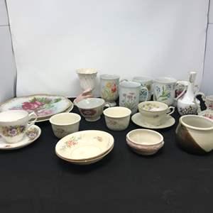 Lot # 76 - Teacups & Misc. China