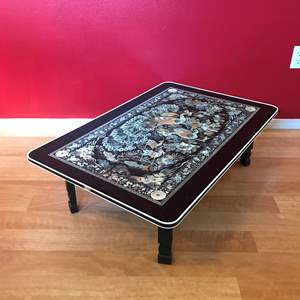 Lot # 203 - Cool Plastic Folding Coffee Table