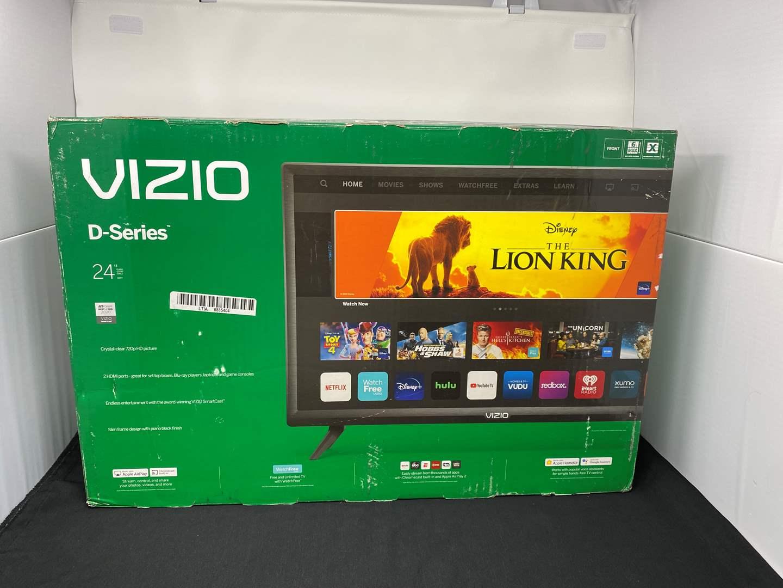 "Lot # 9 - New in Box Vizio 24"" D-Series Smart TV - (Model - D24H) (main image)"