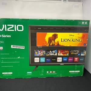 "Lot # 9 - New in Box Vizio 24"" D-Series Smart TV - (Model - D24H)"