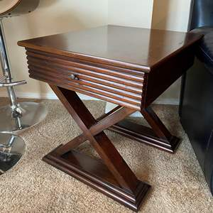 Lot # 23 - Wood Side Table