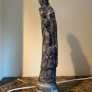 """Lot # 26 - Asian Cement Statue - (26"""" tall)"""
