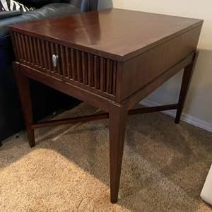 Lot # 28 - Wood Side Table