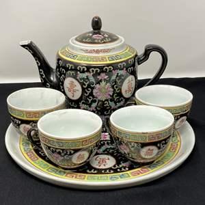 Lot # 104 - Asian Tea Set