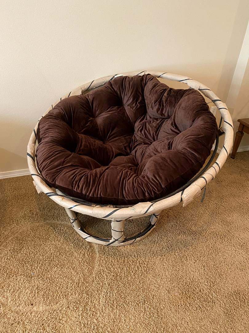 Lot # 111 - Brand New Papasan Chair from Pier-One-Imports (main image)