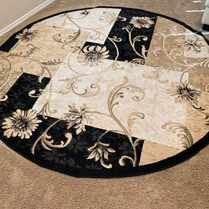 Lot # 120 - Large Round Area Rug