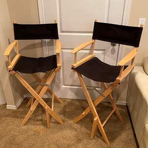 Lot # 127 - Two Directors Style Chairs