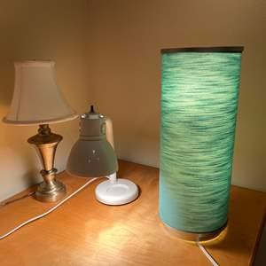 Lot # 128 - Three Table Lamps