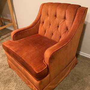 Lot # 132 - Vintage Orange Chair