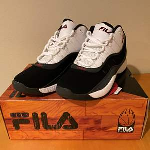 Lot # 145 - New in Box Men's Fila Basketball Shoes - (Size 10)